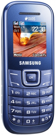 Моб.тел. Samsung E1202 indigo blue